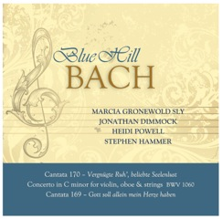 Blue Hill Bach CD 2011